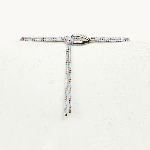 Cintura in corda con gioiello - Cinture - MAJE
