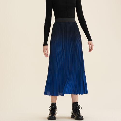 Gonna plissettata Tie & Dye - Gonne e shorts - MAJE