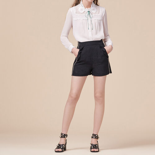 Short con stampa brocart - Gonne e shorts - MAJE