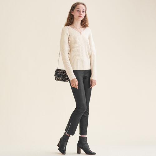 Pullover loose in cashmere - Maglieria - MAJE