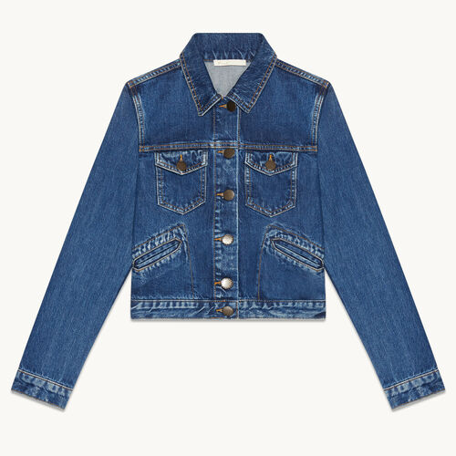 Giubbotto di jeans - Giacche - MAJE