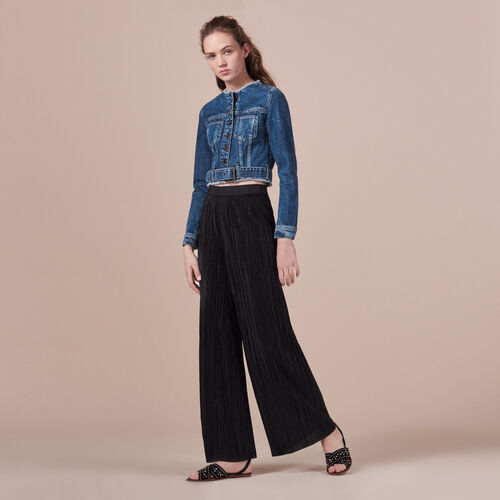 Giacca corta in jeans - Giacche - MAJE