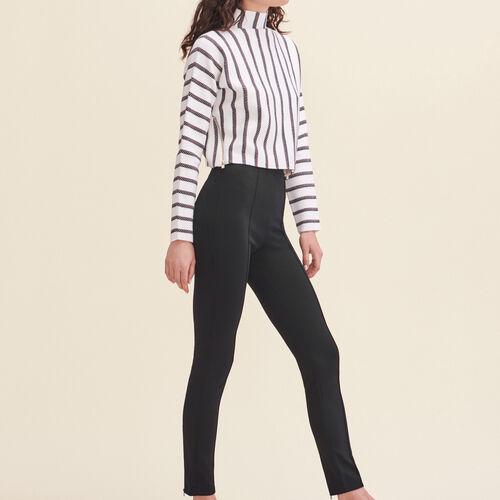 Leggings effetto fuseau - Pantaloni - MAJE