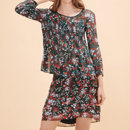Top con stampa floreale - Tops - MAJE