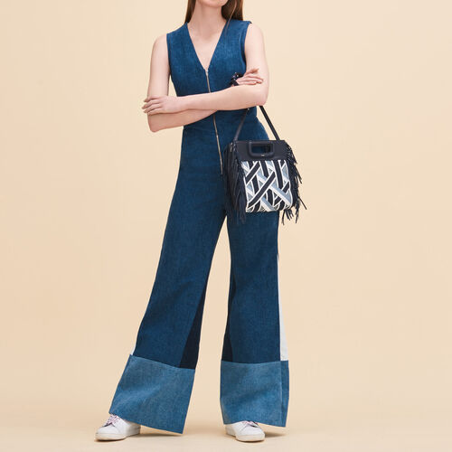 Tuta pantalone senza maniche - Jeans - MAJE
