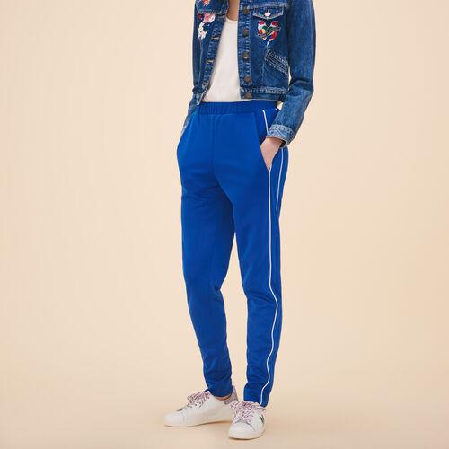 Pantaloni stile tuta - Pantaloni - MAJE