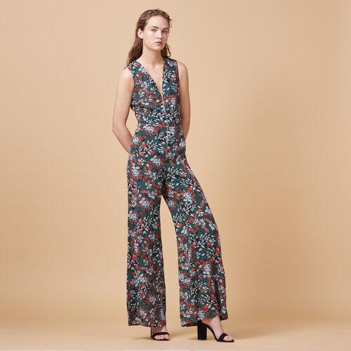 Tuta pantalone stampata - Pantaloni - MAJE