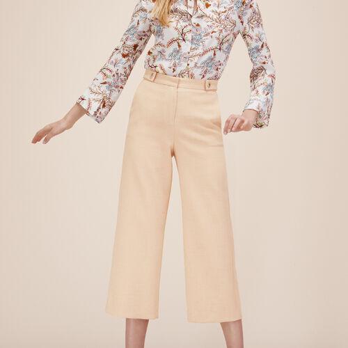 Pinocchietto ampio - Pantaloni - MAJE