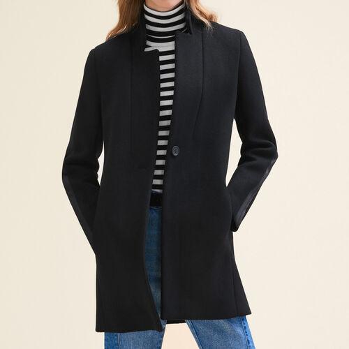 Cappotto dritto in lana - Cappotti - MAJE