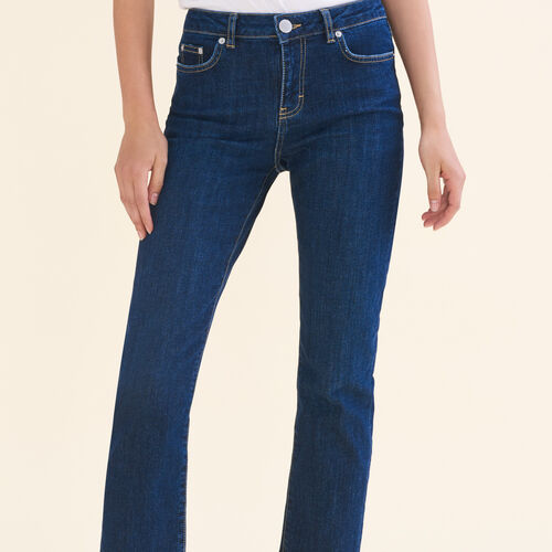 Jeans 7/8 in cotone stretch - Jeans - MAJE