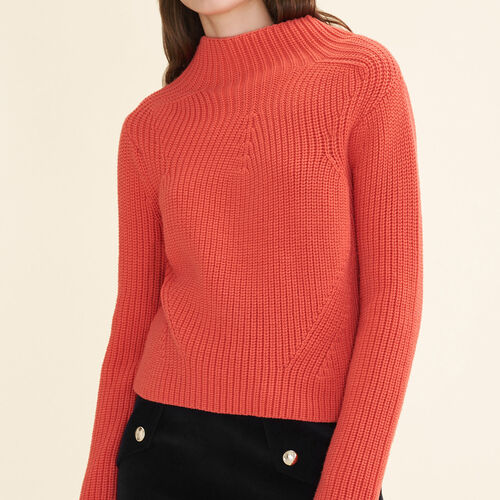 Pullover in maglia spessa - Maglieria - MAJE