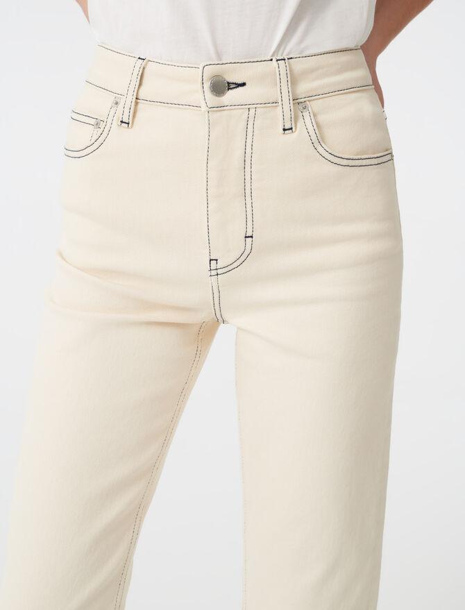 Jeans dritti impunturati - Pantaloni e Jeans - MAJE