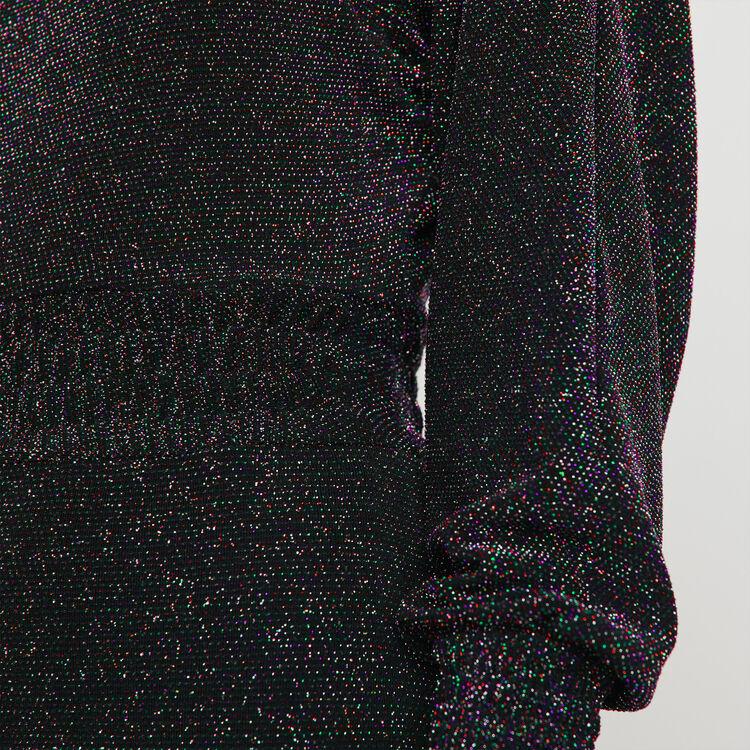 Vestito foulard Stretch in Lurex : Vestiti colore Multicolore