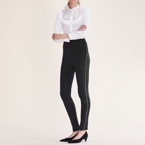 Leggings con multi-zip - Pantaloni - MAJE