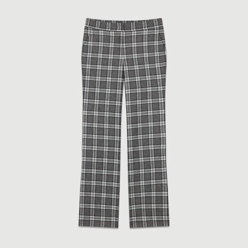 Pantalone a quadri : Pantaloni colore CARREAUX