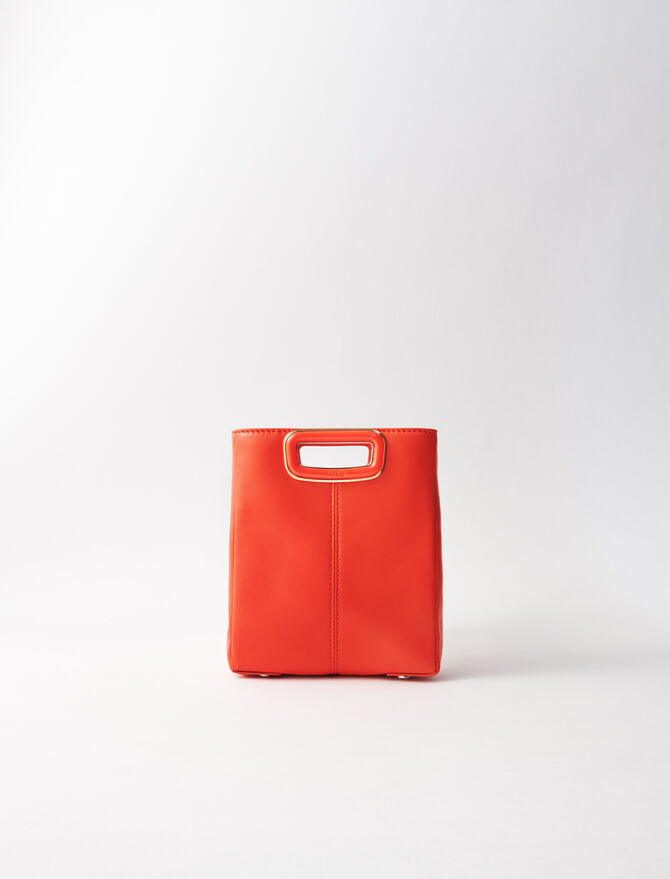 Borsa M mini in pelle - M Skin - MAJE