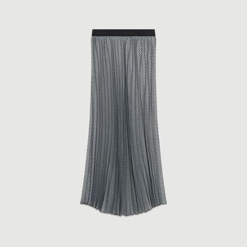 Gonna plissettata : Gonne e shorts colore CARREAUX