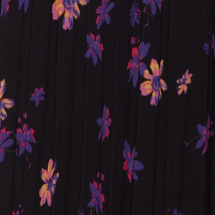 Vestito lungo plissettato : Vestiti colore IMPRIME