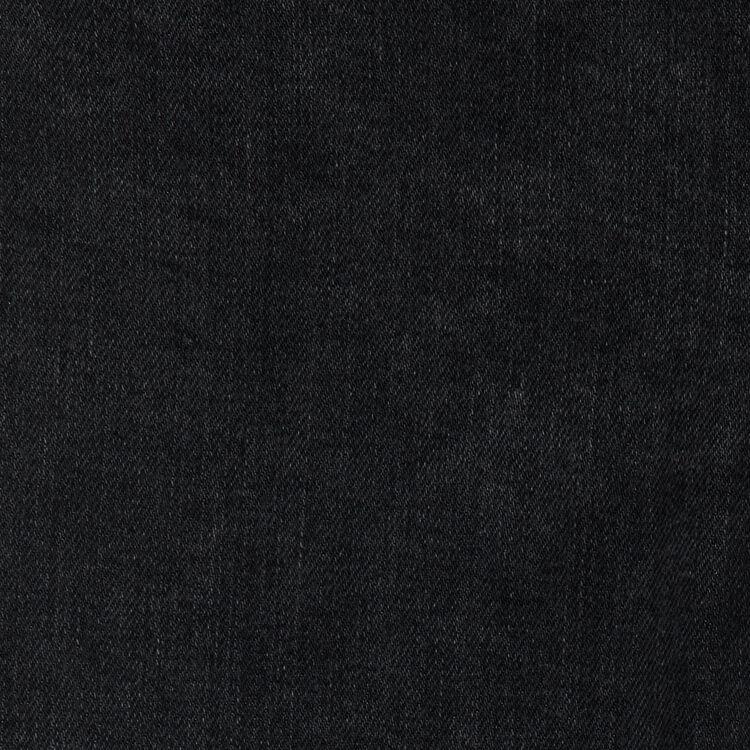 Jeans larghi con frange : Jeans colore Nero