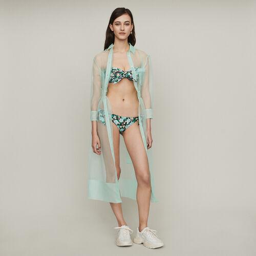 Costume da bagno bustier stampato : SoldesUK-All colore IMPRIME