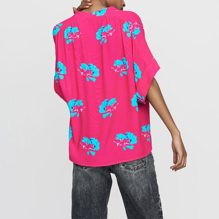 Camicetta oversize stampata : Camicie colore IMPRIME