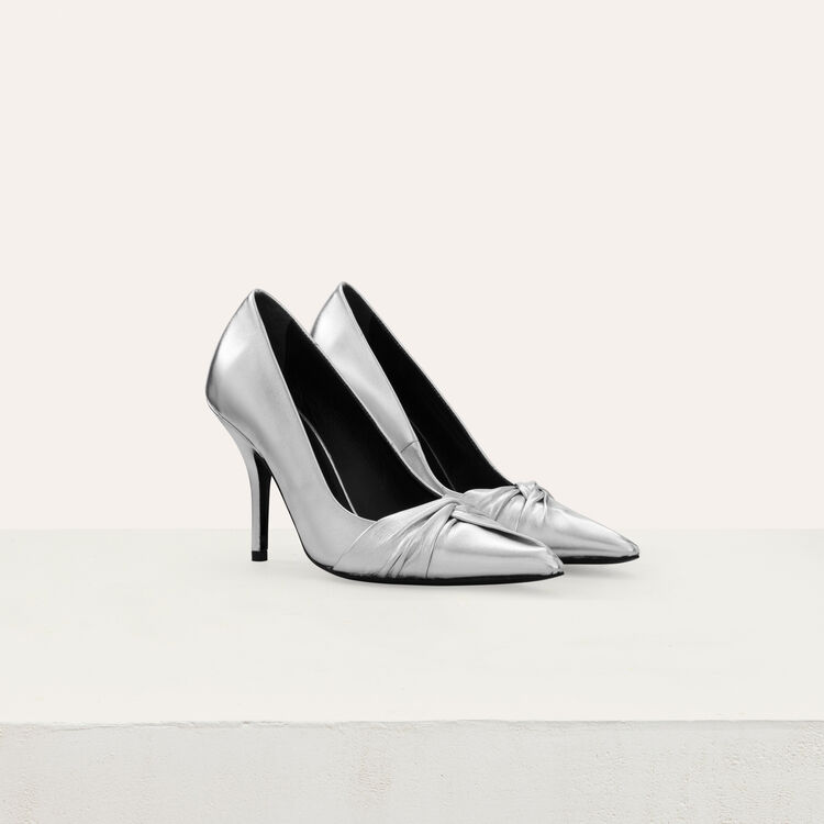 Décolleté drappeggiate : Scarpe colore Argento