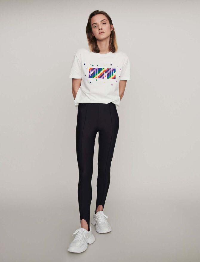 Pantalone tipo fuseau Stretch - Pantaloni - MAJE