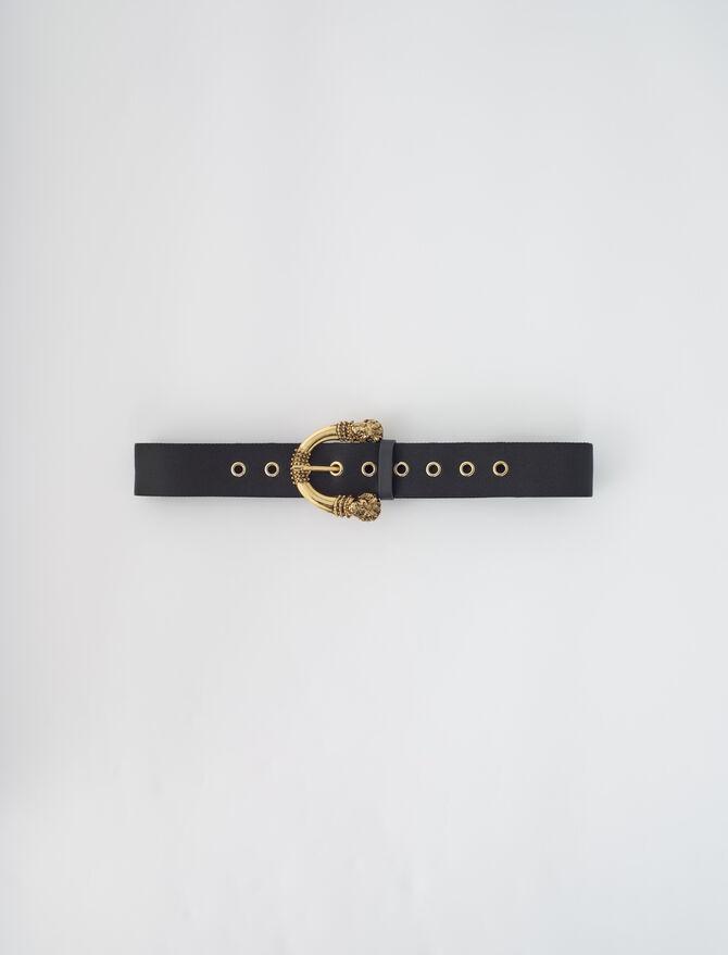 Cintura cinghia con fibbia - Cinture - MAJE