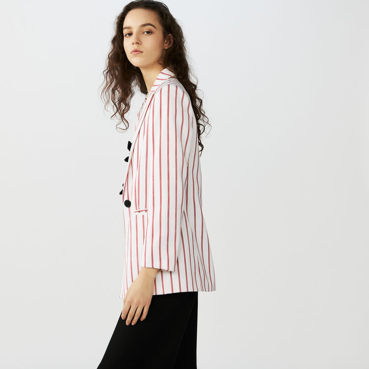 Giacca tailleur a righe : Giacche colore A Righe