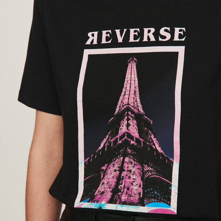 Tee-shirt serigrafata : T-Shirts colore Nero