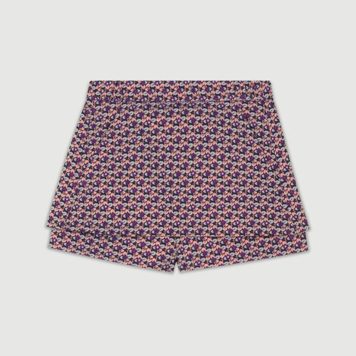 Jacquard cropped skirt : Gonne e shorts colore Jacquard