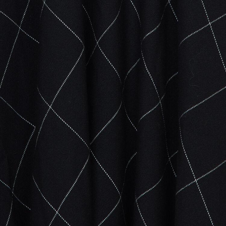 Scamiciato asimmetrico a quadri : Prêt-à-porter colore CARREAUX