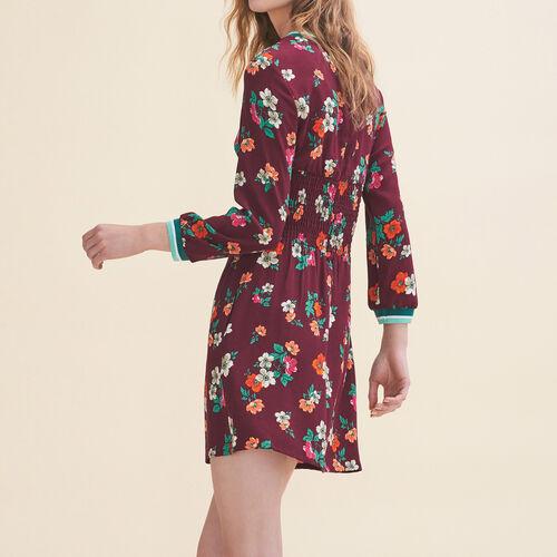 Abito fluido con stampa vintage : Vestiti colore Stampato