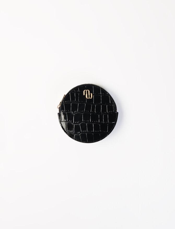 Portamonete da cintura in pelle goffrata - Bags and small leather goods - MAJE