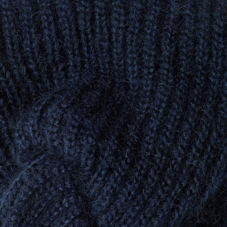 Maglia misto lana : Altri accessori colore Blu Marino