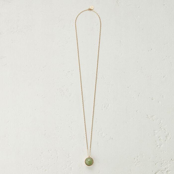 Collana con sfera in : Gioelli colore Verde Acqua