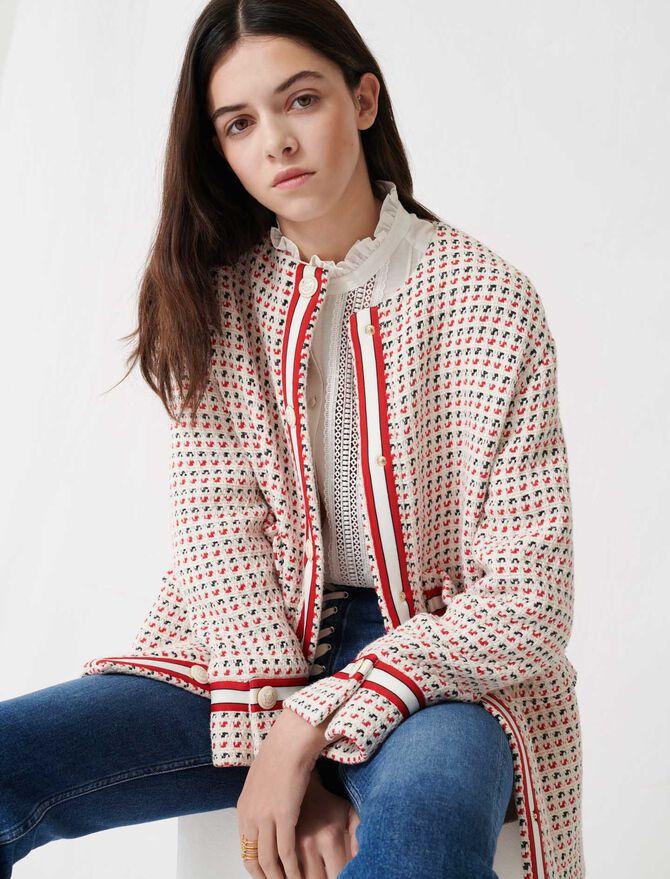 Cappotto corto raffinato stile tweed - Cappotti e Giubbotti - MAJE