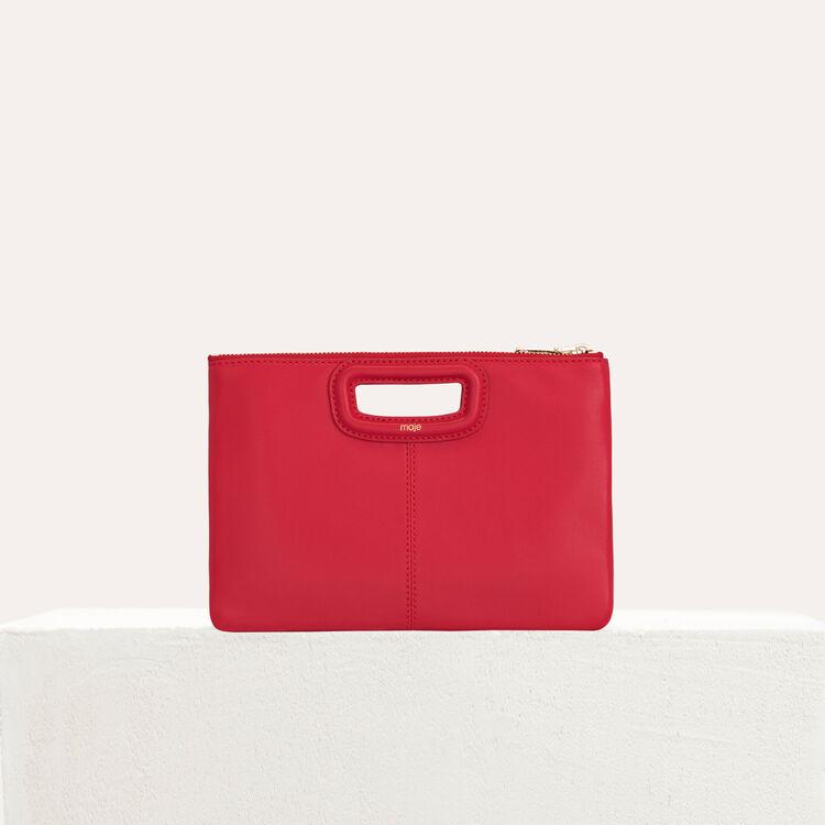 Pochette M Duo in pelle : M Duo colore Rosso
