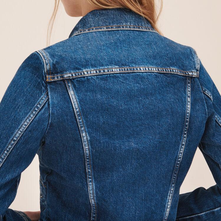 Giubbotto di jeans : Giacche colore Denim