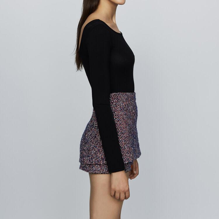 Pantaloncini in tweed : Gonne e shorts colore Jacquard