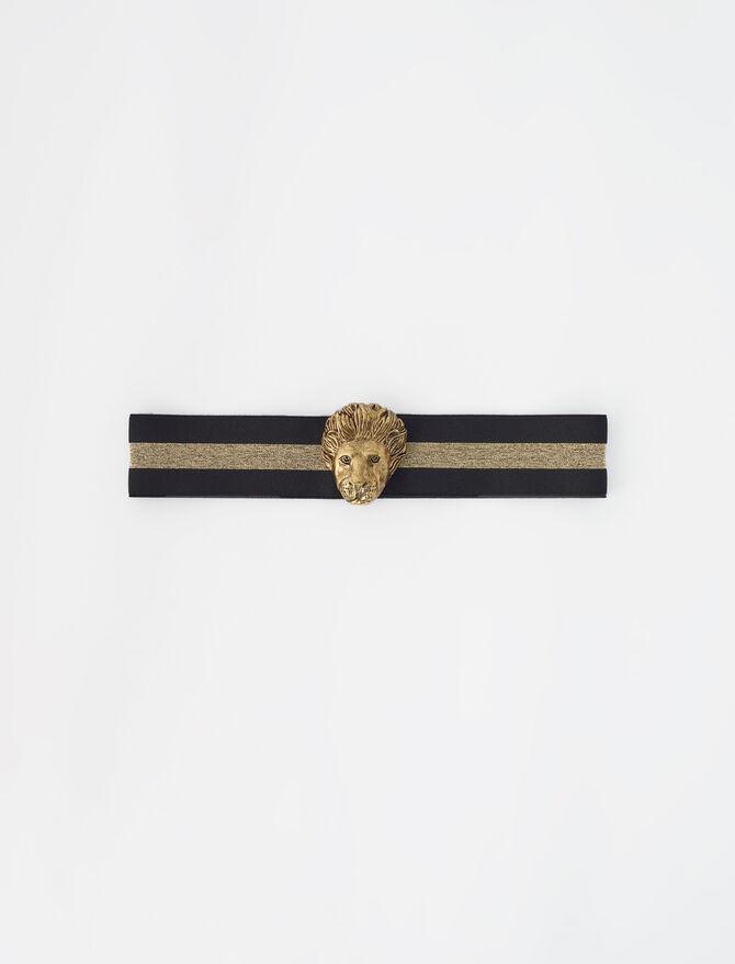 Cintura elasticizzata ornamento dorato - guida ai regali - MAJE