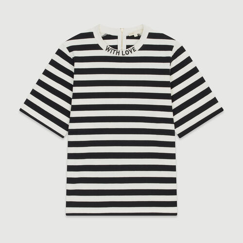 Tee-shirt a righe bicolore : T-Shirts colore A Righe
