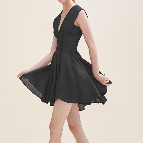 Abito a campana senza maniche : Vestiti colore Nero