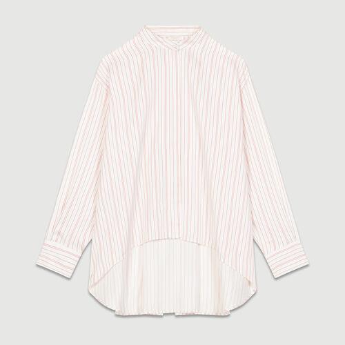 Camicia oversize a righe : Camicie colore A Righe