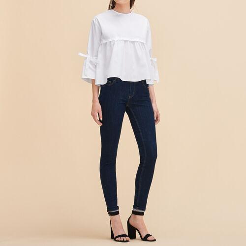 Jeans skinny : Pantaloni & jeans colore Denim