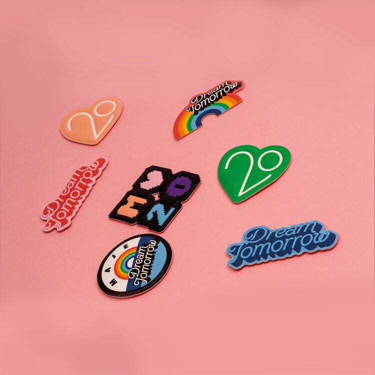 Una toppa X 20 anni : Gadgets colore Multicolore