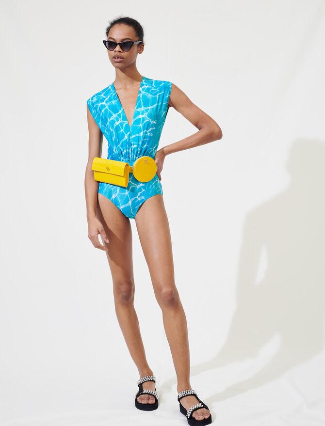 Costume intero stampa piscina - Tops e Camicie - MAJE