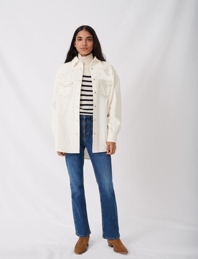 Jeans con tasche - eco-sostenibile - MAJE