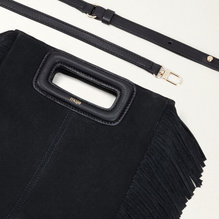 Sandali con tacco in satin : Nouveautés Sacs colore Nero