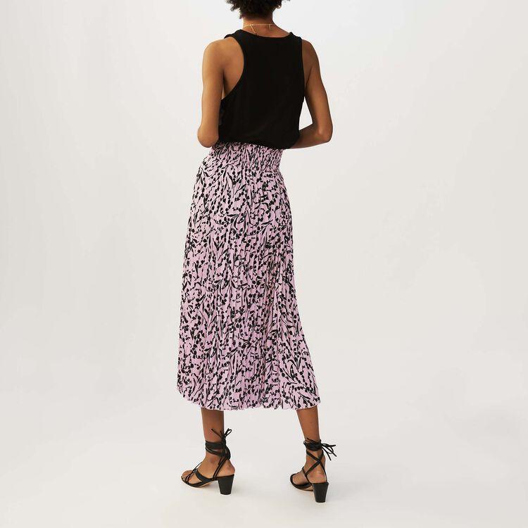 Gonna lunga plissettata : Gonne e shorts colore IMPRIME